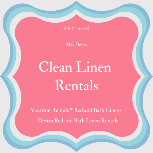 Clean Linen Rental 001logo 3 Destin Housekeeping Services Llc